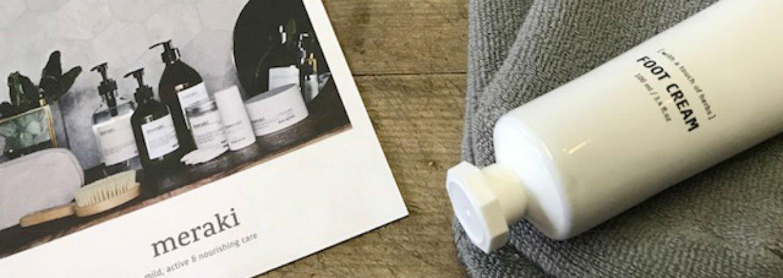 Sokker og fodcreme fra Meraki